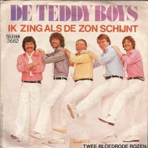 NIEUW!! Single van de maand Januari: De Teddy boys - ik zing als de zon schijnt
