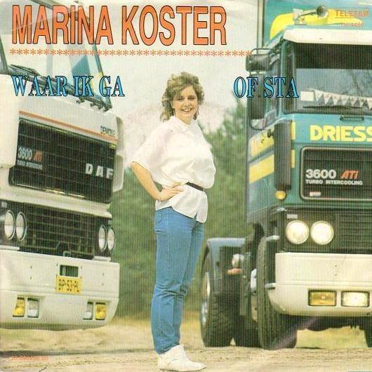 Single van de maand Februari: Marina koster - Waar ik ga of sta
