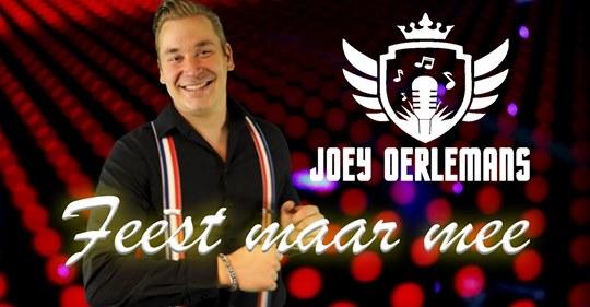 Single van de maand dec: Joey oerlemans - Feest maar mee